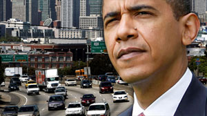 PHOTO oday President Barack Obama announced a new national fuel and emission standards program for cars and trucks with the intention of cutting vehicle carbon emissions and raise mileage by 30 percent.