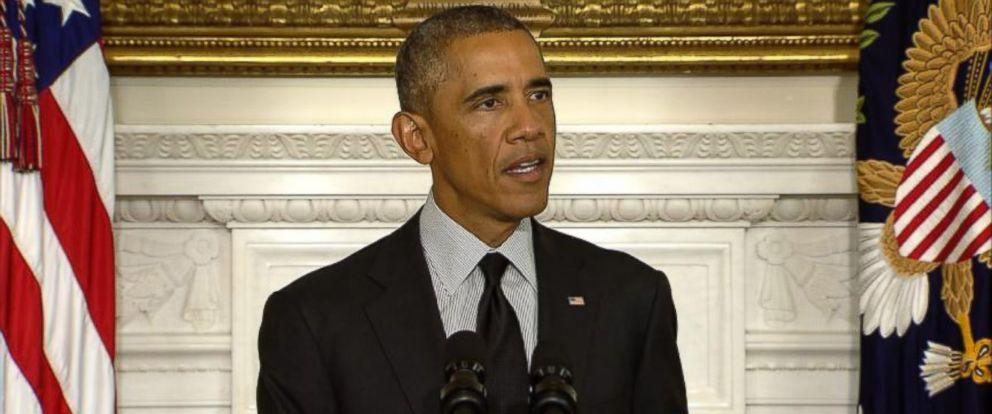 PHOTO: President Obama addresses the nation on Sept. 18, 2014.