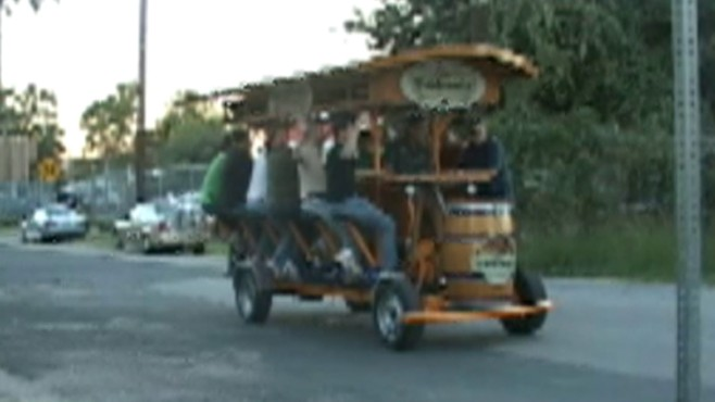 Pub On Wheels Combines Beer, Exercise