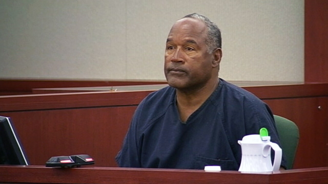 O.J. Simpson Chuckles and Smiles in Testimony