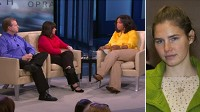 Parents of American exchange student Amanda Knox appear on Oprah Winfrey?s talk show.