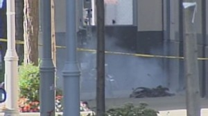 Video:  Bomb scare at Harpo studios.