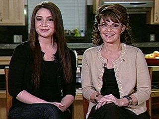 Bristol and Sarah Palin on Oprah