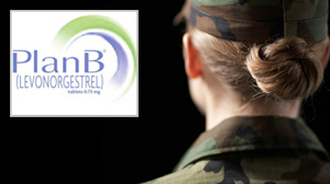 PHOTO The Pentagon will allow female soldiers to use Plan B, also known as the morning after pill.