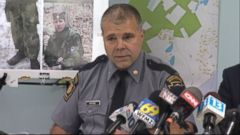 VIDEO: Lt. Col. George Bivens issues a message for Eric Matthew Frein during a news conference.