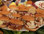 PHOTO: Paula Deens Slow Cooker Pulled Pork Sandwiches.