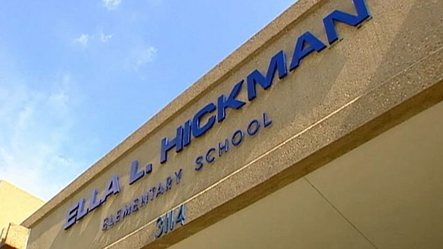 PHOTO: Hickman Elementary School in Garland, TX is being criticized for announcing race-based awards at school ceremony.