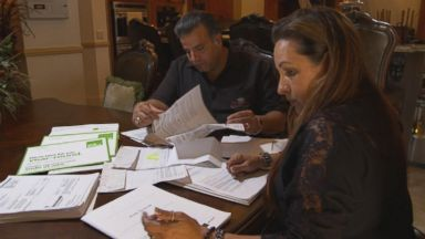 PHOTO: Steven and Adriana Rahal wrote to The ABC News Fixer with help after their taxes were audited.