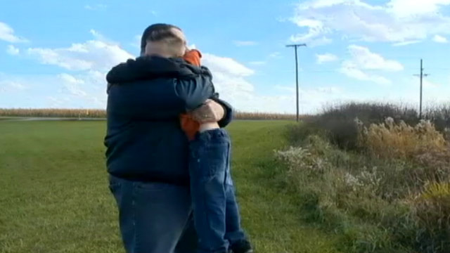 PHOTO: A man reunites with a baby he saved five years ago, who is now 6-years-old.