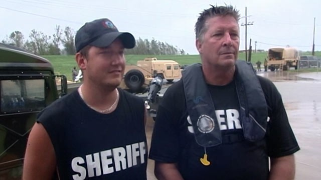 PHOTO: Father-son rescue team Jesse Shaffer, 25, and his father, also named Jesse Shaffer, 53, are shown.