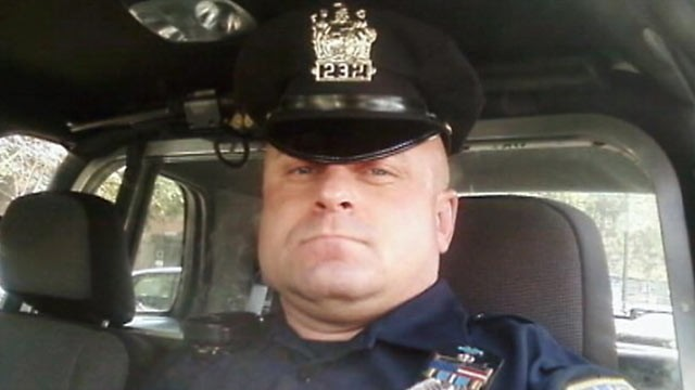 PHOTO: Richard Klementovich, an off-duty New Jersey policeman allegedly engaged in a firefight with police and was taken into custody after a 10-hour standoff.