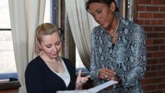 PHOTO: ABC News Robin Roberts is pictured here with Cleveland kidnapping survivor Amanda Berry.