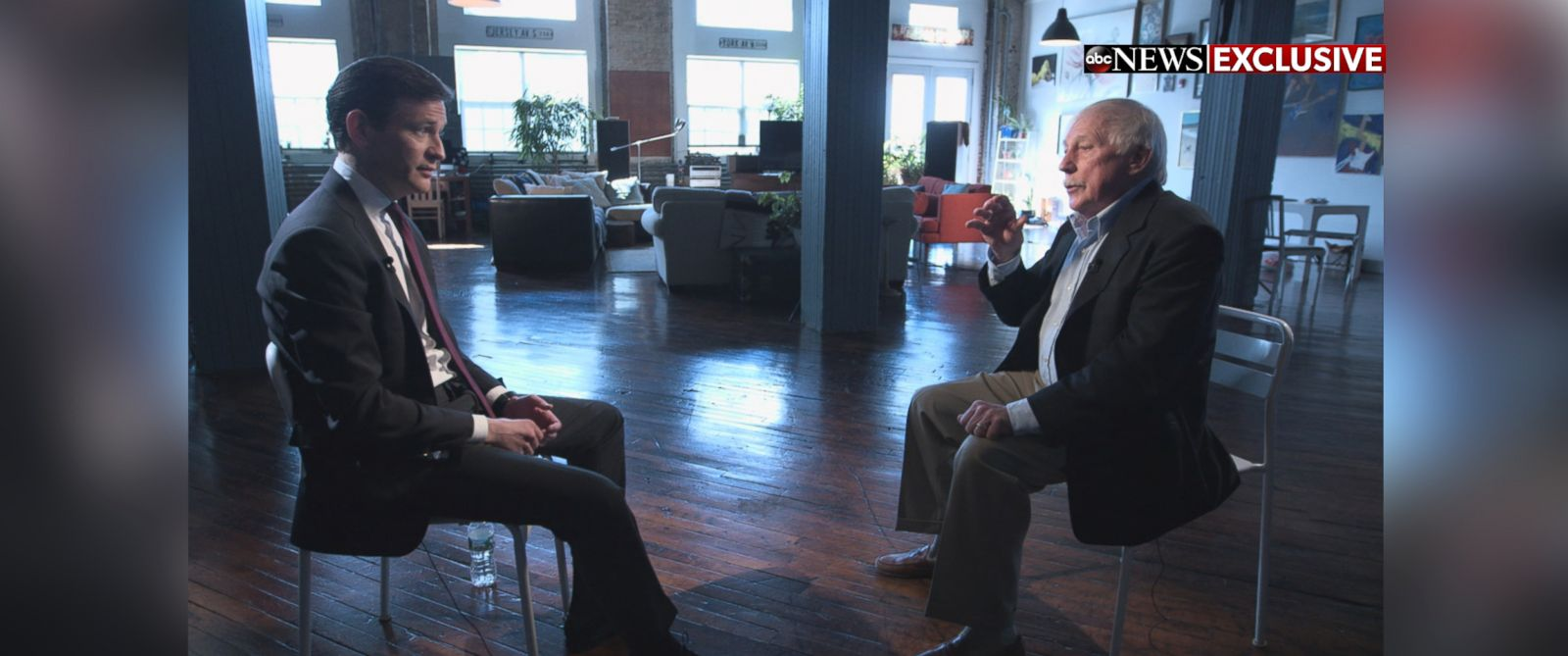 "PHOTO: Ron Miscavige sat down with ABc News Dan Harris for an exclusive interview to air on ""20/20"" Friday, April 29 at 10 p.m. ET"