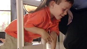 VIDEO: Child Slips through Pet Doors