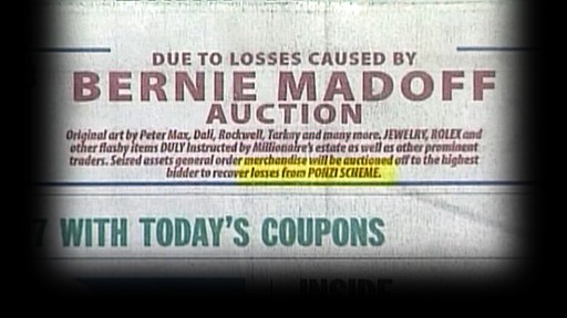 VIDEO: Fake Madoff Auctions