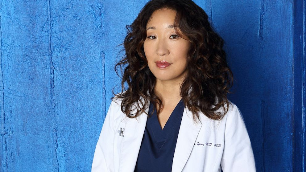 "PHOTO: ABCs ""Greys Anatomy"" stars Sandra Oh seen as Dr. Cristina Yang."