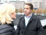 PHOTO: Diane Sawyer and Andrew Cuomo