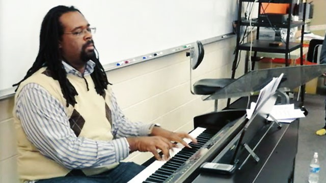 PHOTO: Pennsylvania high school choir director Tyrone Dinkins is accused of multiple charges of unlawful contact with minors.