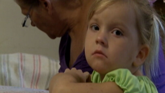 PHOTO: A Florida judges ruling gave custody of Miranda Wilkerson, 3, to a registered sex offender who was married to her mother over her grandmother.