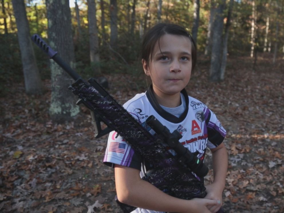PHOTO: Shyanne Roberts, 10, of New Jersey said she started shooting when she was 5 years old.
