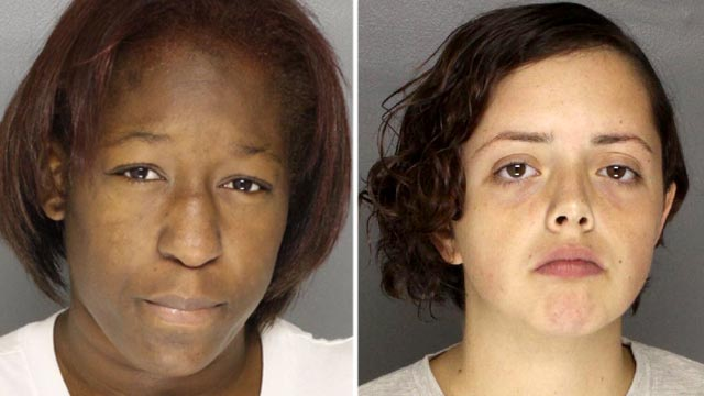 """PHOTO:Britney Singleton, left, and Harley Gifford, dubbed """"Thelma and Louise"""" by local law enforcement, for robbing 29 homes in less than three months, stealing hundreds of items and more than $21,000 in cash."""