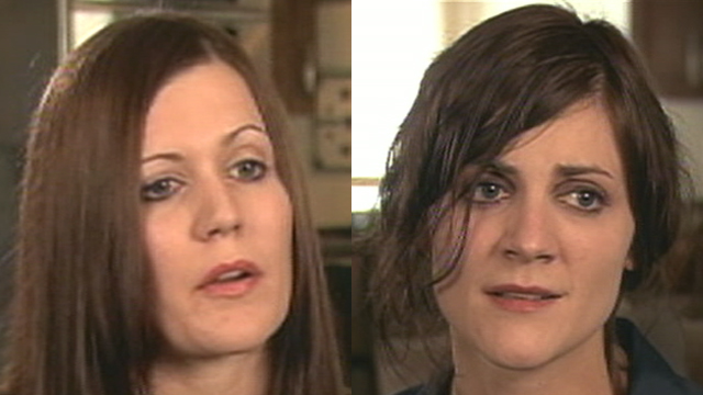 PHOTO: The daughters of a doctor now facing murder charges in the death of his