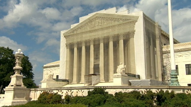 VIDEO: High court strikes down a key section in the Defense of Marriage Act.