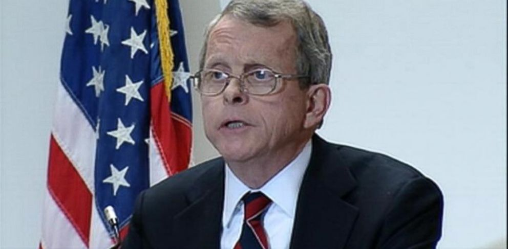 PHOTO: Ohio Attorney General Mike DeWine held a press conference on Nov. 25, 2013 to announce four more indictments in the Steubenville rape case.