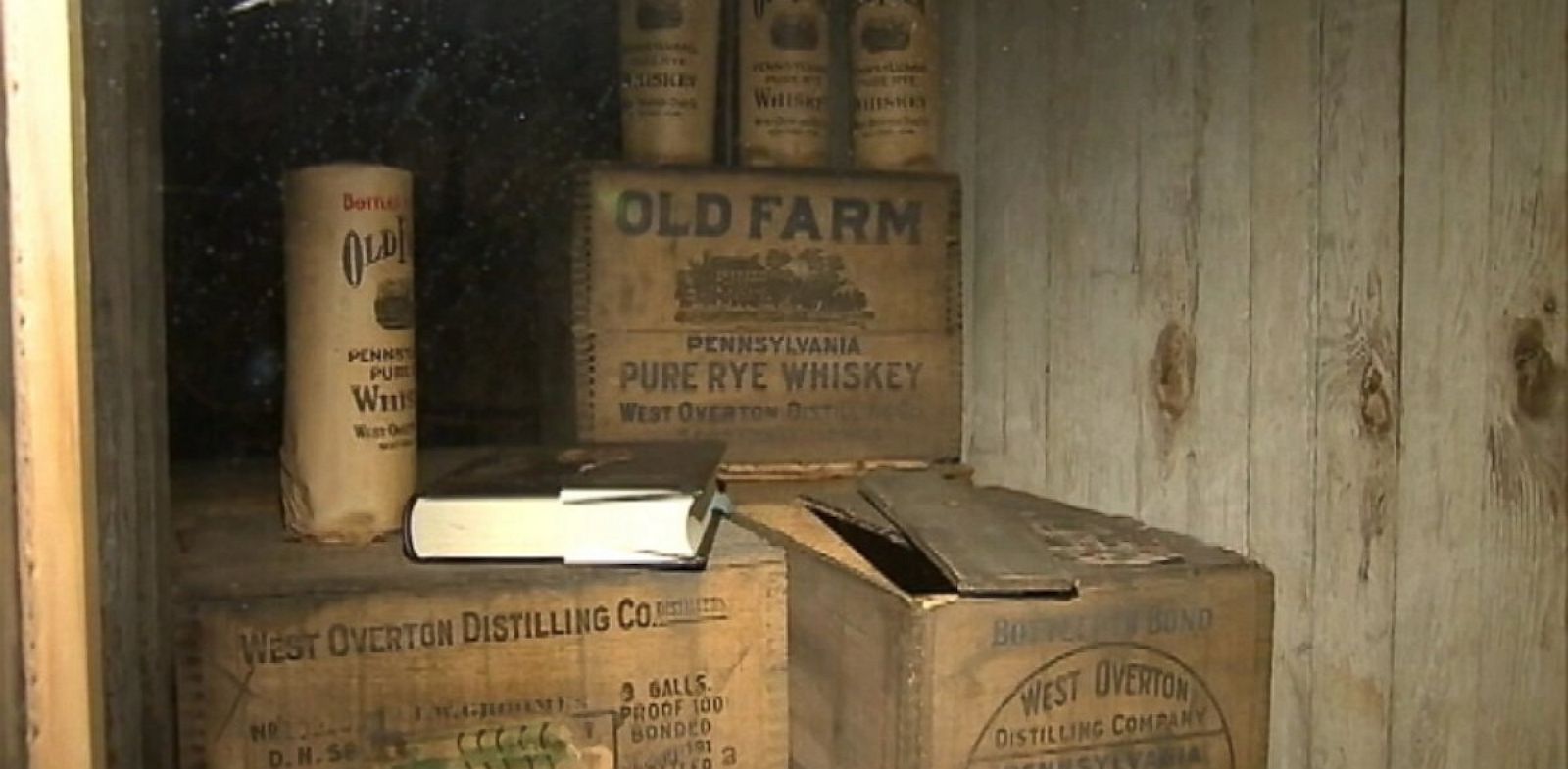 PHOTO: John Saunders is accused of drinking 52 bottles of whiskey valued at $102,000.
