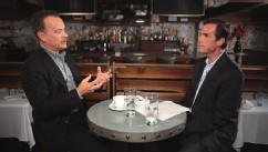 VIDEO:  Bob Woodruff asks about research for Hanks' movies about war and the key to their success.