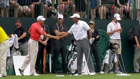 abc tiger sergio shake nt 130610 wblog Tiger Woods, Sergio Garcia Shake Hands