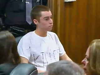 School Shooter Gives Court the Finger