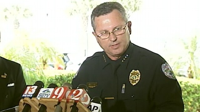 """VIDEO: Sanford, Fla., Police Chief Bill Lee """"temporarily"""" steps down from investigation."""