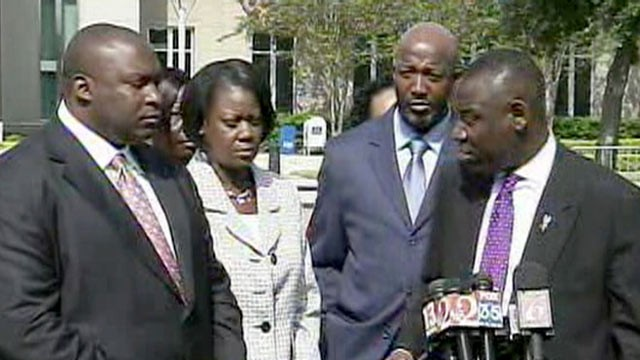 PHOTO: Trayvon Martin's parents appeared in court, Oct. 19, 2012, to try and stop the release of their son's school records.