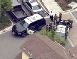 PHOTO: Tustin, Calif. police reported a carjacking with shots fired in the area of Red Hill and Nisson, Feb. 19, 2013. The suspect was reported to be armed with two long guns.