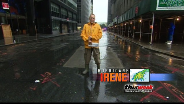 VIDEO: ABC News' Sam Champion tracks Hurricane Irene's path.