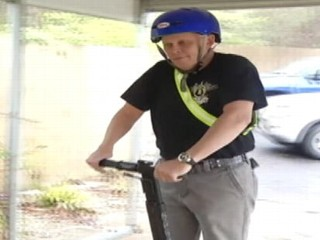 Soldier Kicked Out of Mall for Segway, Wife Says