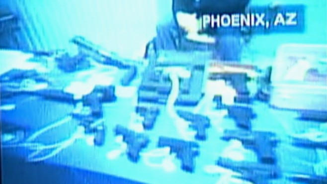 VIDEO: NYC mayors sting operation reveals illegal sales at an Arizona gun show.