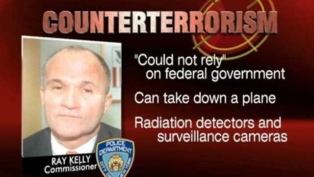VIDEO: Police Commissioner Ray Kelly says NYPD is capable of taking down a plane.