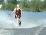 VIDEO: 77-year-old Avola Fitzwater water skis.