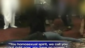 Video: Church performs apparent gay exorcism.