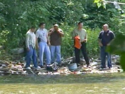 VIDEO: Police find a 2-year-old girls embalmed body in a N.J. river.