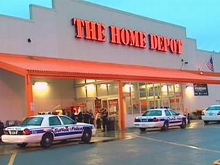 Bomb Scares Empty 2 Home Depots