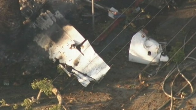 VIDEO: Plane crashes in residential neighborhood in Los Angeles Westwood section.