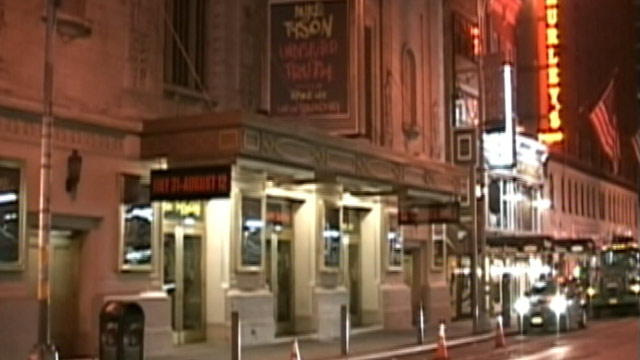 "PHOTO: The NYPD will subpoena Twitter Tuesday, August 7, 2012, to force the social-media site to identify a psycho poster who is threatening a ""Batman""-style shooting rampage at a Broadway theater."
