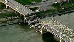 PHOTO: Serious questions of nation's bridge infrastructure are being raised after the Washington State Bridge collapsed.