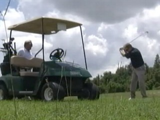 Watch: Blind Golfing: Florida Man Hits Tees Without Sight