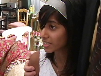 VIDEO: A teen girl claims her Muslim family would kill her for converting to Christianity.