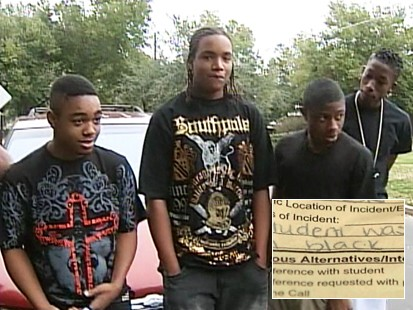 Video: Students accuse school of discrimination.