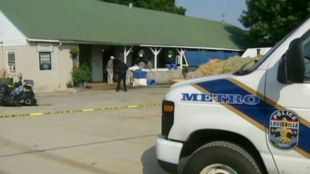 VIDEO: Police investigate the mysterious death at Churchill Downs.